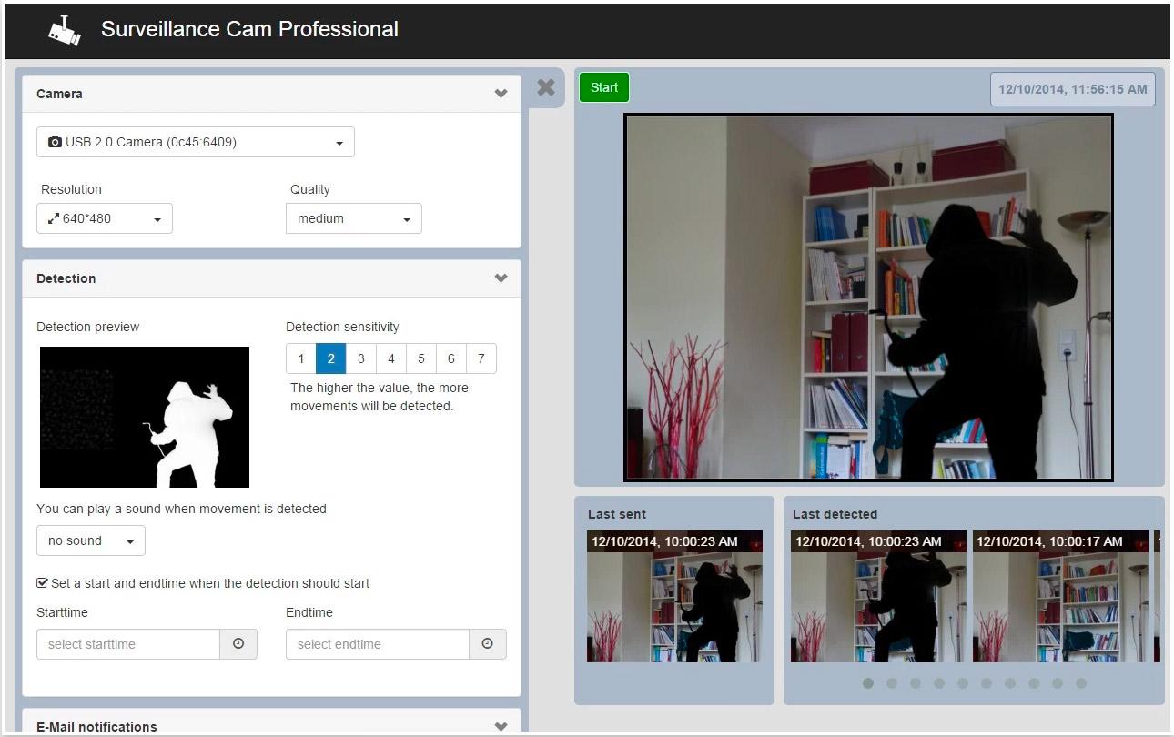 surveillance cam professional