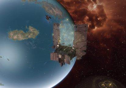 The Keepstar and the planet