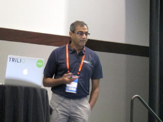 Murali Balcha speaks at OpenStack Summit, May 2017