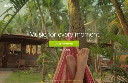 Music Landing Page