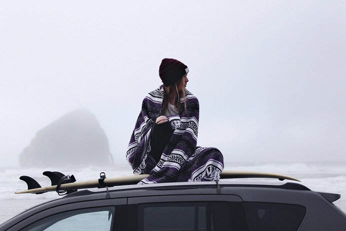 Habits of Creativity - Sitting on Car