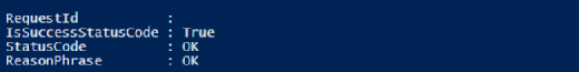 Azure deployment success