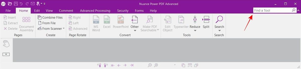 Nuance Power PDF with Ribbon Interface