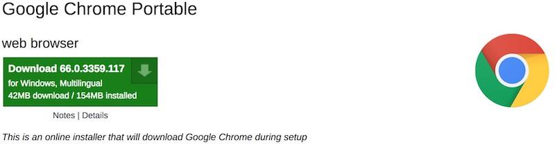 chrome-portable