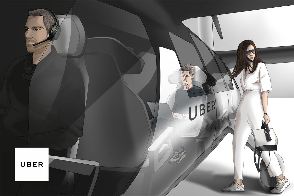 The passenger experience on UberAir.