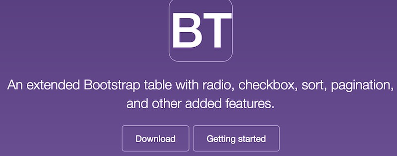 bootstrap-table
