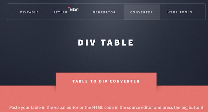 html-table-to-div-converter