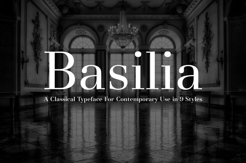 Basilia Font
