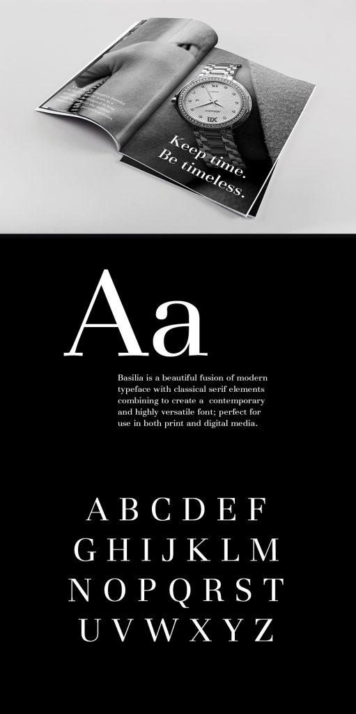 Basilia Font in Context