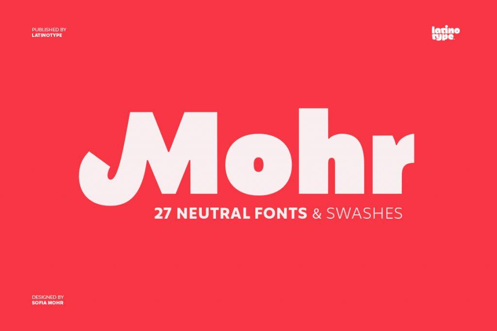 Mohr Font