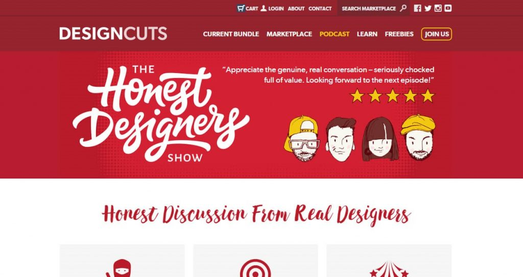 honest designers show podcast