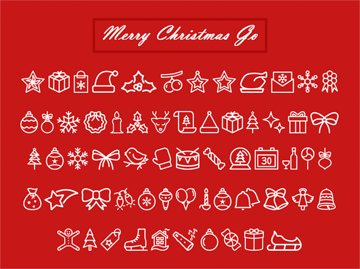 christmas fonts by Jamel E. Robin