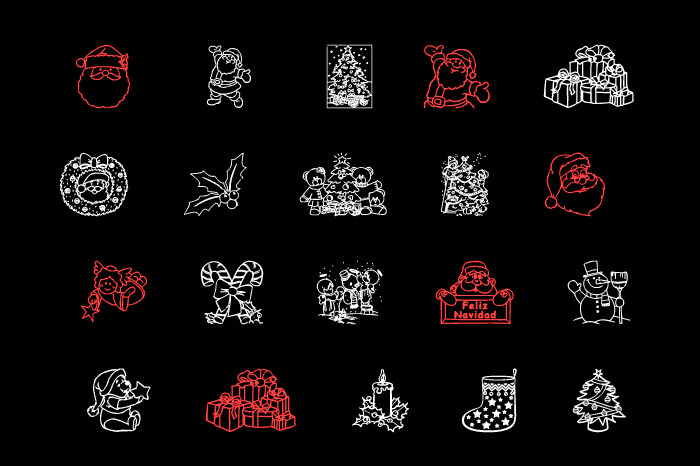 christmas fonts by Ding Bang