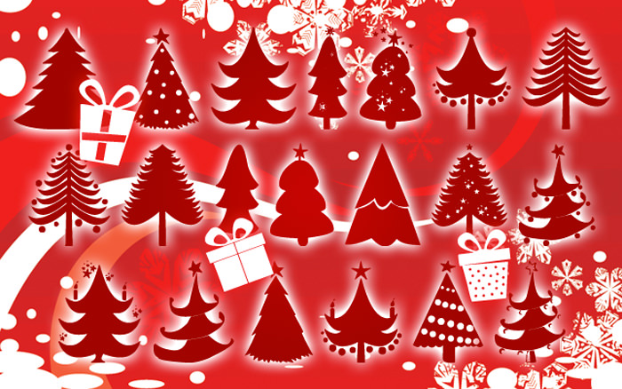 christmas fonts by D3
