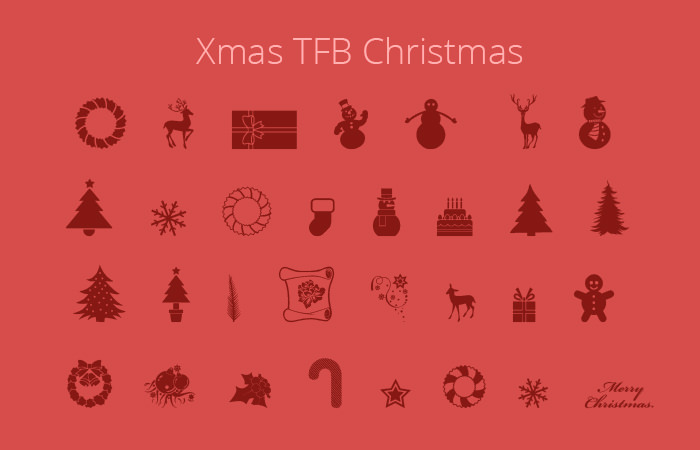 christmas fonts by zanatlija
