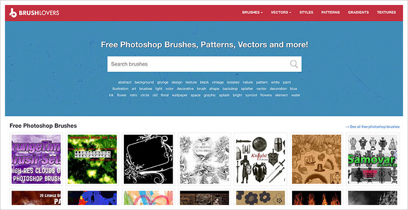 10+ Best Sites to Download Photoshop Brushes (2019) | TechnolAG
